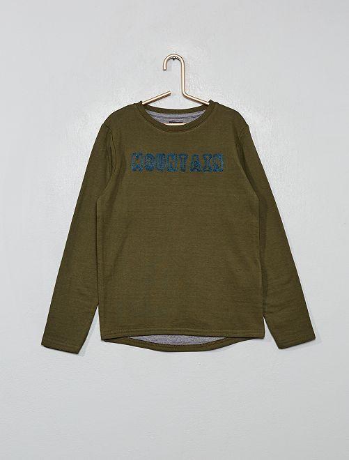 Camiseta de punto grueso                             VERDE
