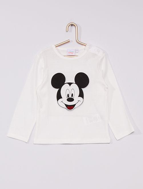 Camiseta de punto 'Mickey' 'Disney'                                         BLANCO