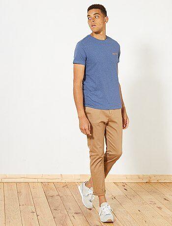 Camiseta de punto moteado - Kiabi