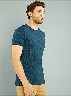 Camiseta de punto tejido