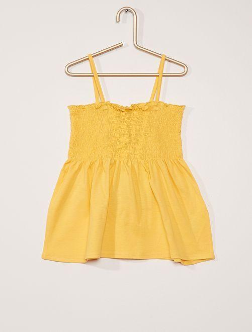 Camiseta de tirantes                                                                 amarillo dorado