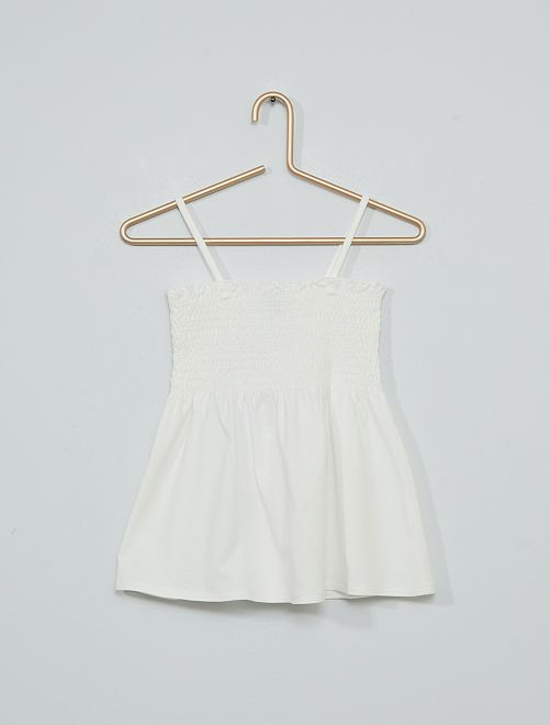 Camiseta de tirantes                                                                 blanco nieve