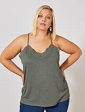 Camisetas Tallas Grandes Mujer Talla 46 Kiabi