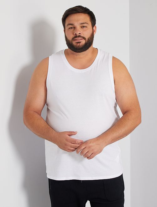 Camiseta de tirantes de pijama                                         blanco