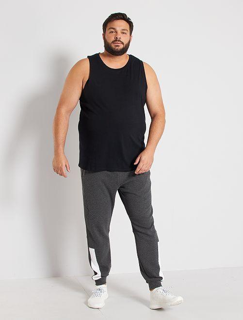 Camiseta de tirantes de pijama                                         negro