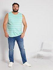Camiseta De Tirantes Tallas Grandes Hombre Kiabi