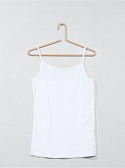 Camiseta de tirantes finos - Kiabi