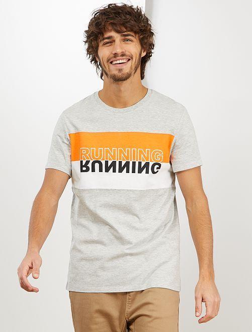Camiseta deportiva 'Eco-Concepción'                                         GRIS