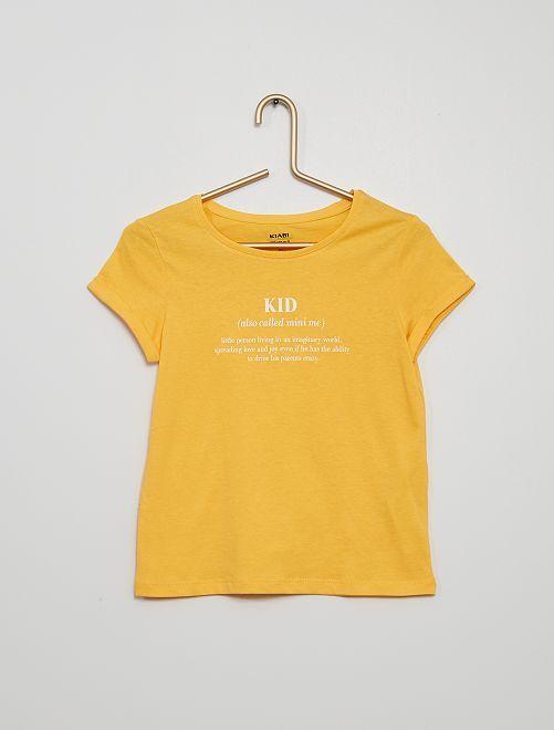 Camiseta 'Día de la Madre'                                                                 AMARILLO