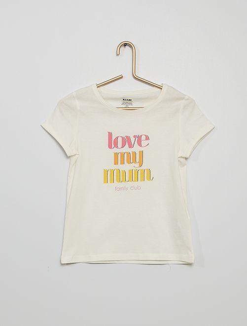 Camiseta 'Día de la Madre'                                                                 BLANCO