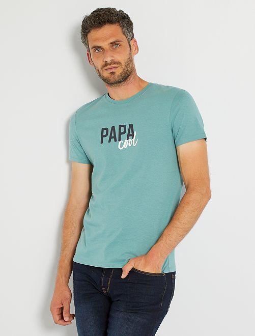 Camiseta Día del Padre                                                                             AZUL
