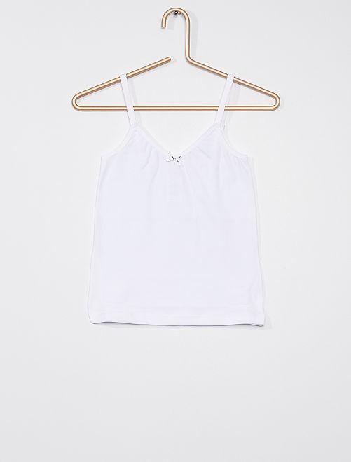 Camiseta 'Dim'                                         blanco
