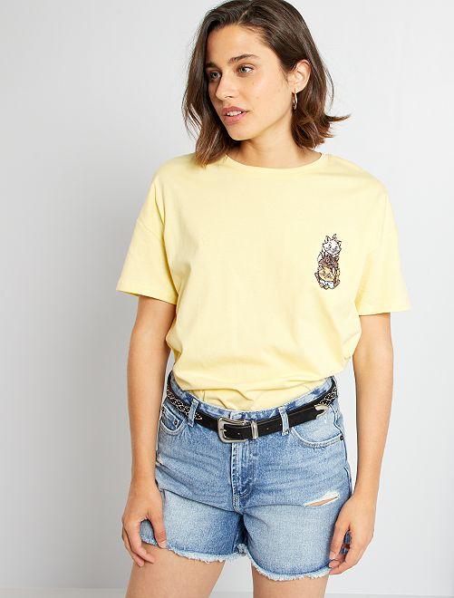 Camiseta 'Disney'                                                                                                                             AMARILLO