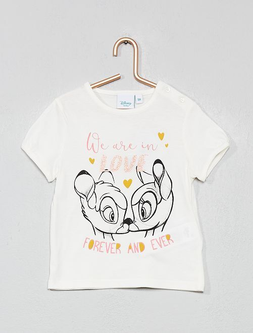 Camiseta 'Disney Baby'                                                                                         BLANCO Bebé niña