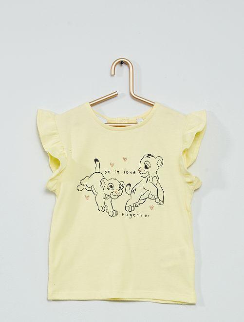 Camiseta 'Disney Baby' estampado dálmatas                             AMARILLO
