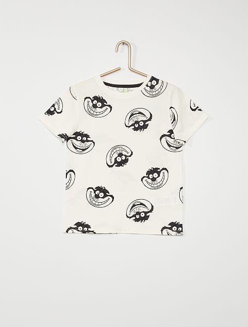 Camiseta 'Disney' eco-concepción                             BLANCO