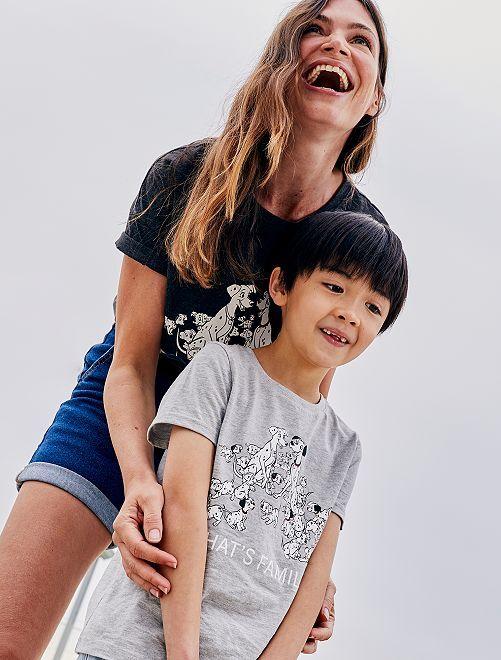 Camiseta 'Disney' eco-concepción                                         GRIS