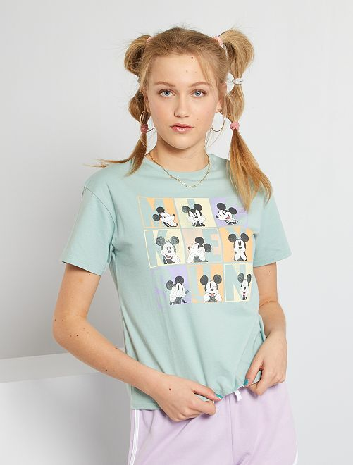Camiseta 'Disney' eco-concepción                                                                                                     VERDE
