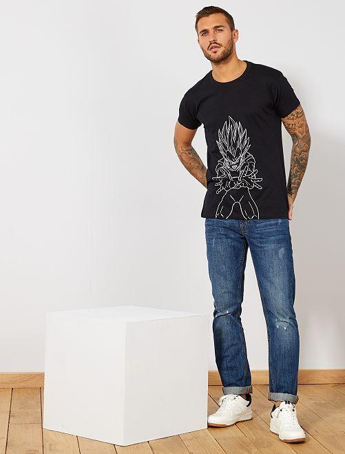 Camiseta 'Dragon Ball Z'                             negro
