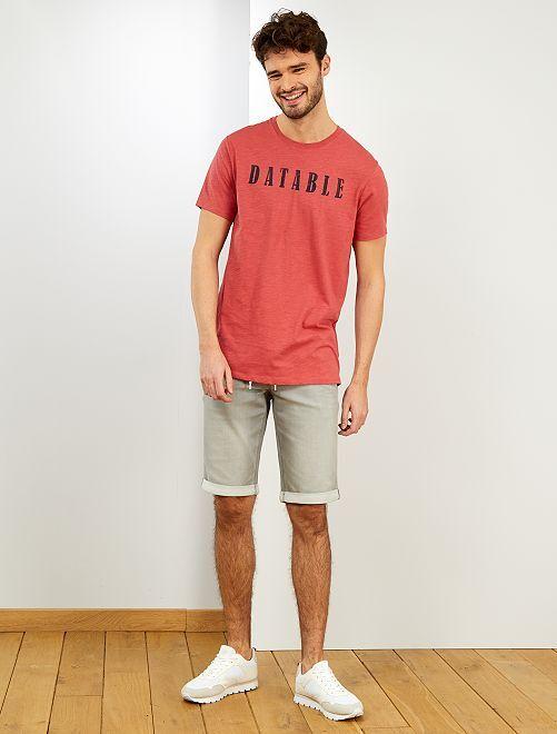Camiseta 'eco-concepción' +1,90 m                                                                 AZUL