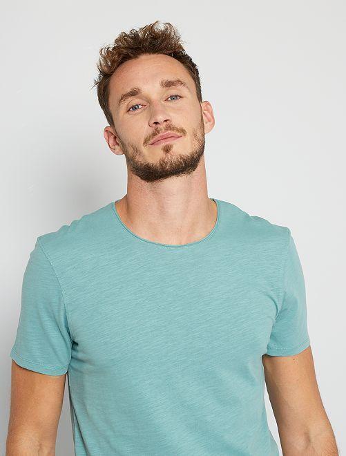 Camiseta eco-concepción +1,90 m                                                                             azul