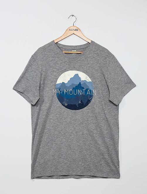 Camiseta 'eco-concepción' +1,90 m                                         GRIS