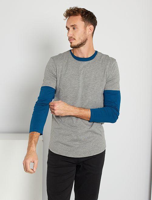 Camiseta eco-concepción +1,90 m                                                                 GRIS