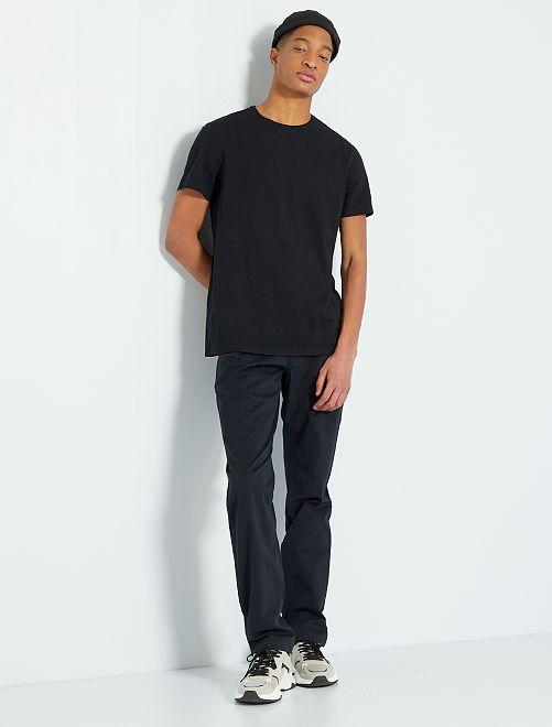 Camiseta eco-concepción +1,90 m                                                                             negro