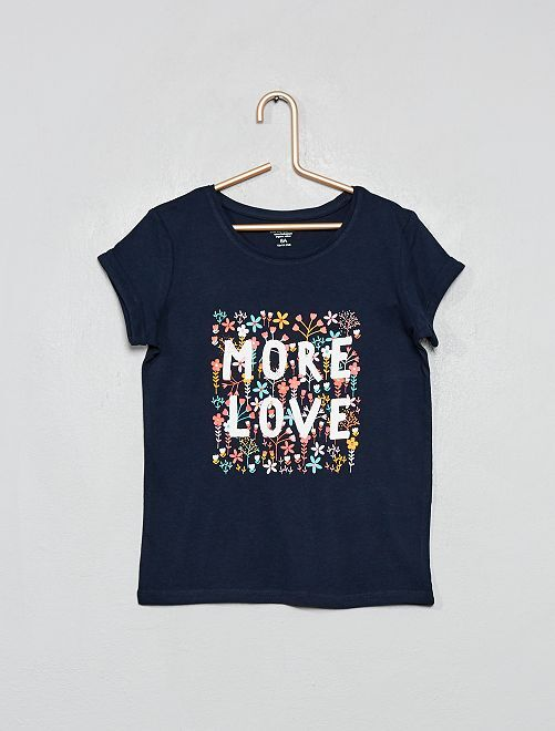 Camiseta 'eco-concepción'                                                                 AZUL