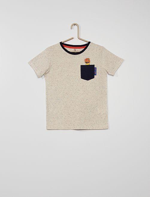 Camiseta eco-concepción                             beige