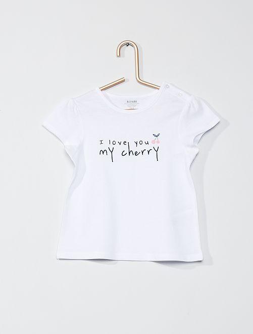 Camiseta 'eco-concepción'                                                                                         BLANCO