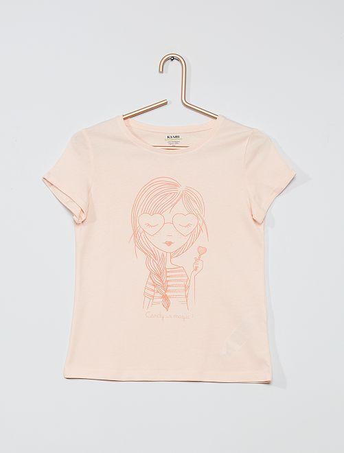 Camiseta 'eco-concepción' 'candy'                                                                                         ROSA