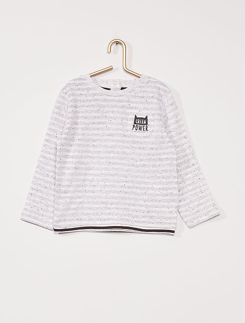 Camiseta 'eco-concepción'                             GRIS