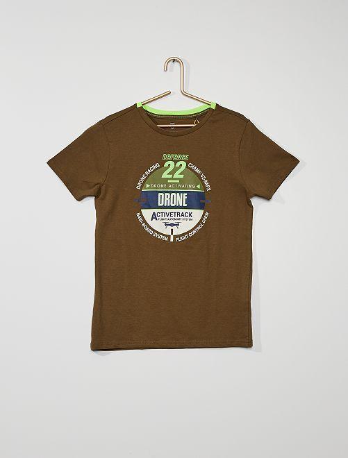 Camiseta eco-concepción                                         KAKI