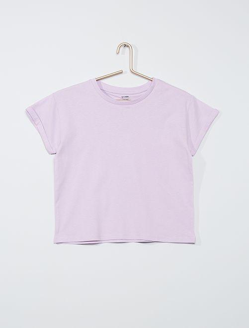 Camiseta 'eco-concepción'                                                                                         malva claro