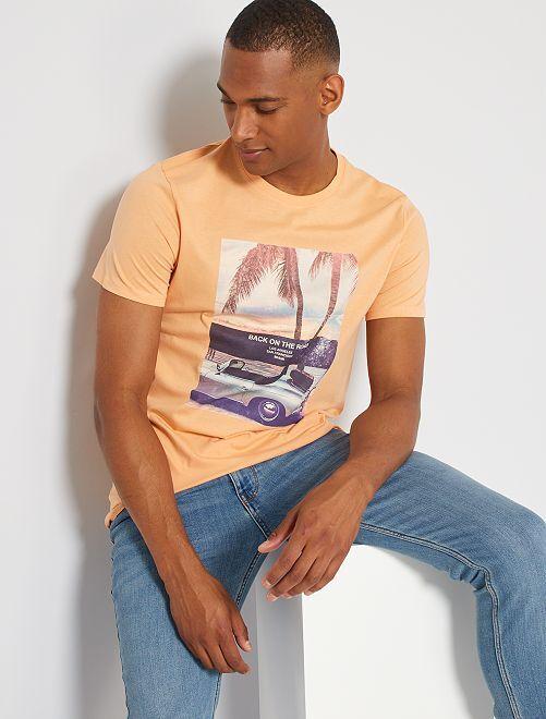 Camiseta eco-concepción 'road'                                                                                                                                                                                                                                                                 NARANJA