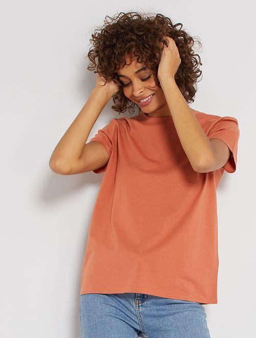 Camiseta eco-concepción                                                                                                                                                                 ROJO
