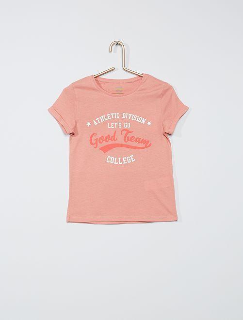 Camiseta 'eco-concepción'                                         ROSA