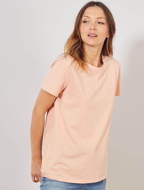Camiseta eco-concepción                                                                                                                     ROSA