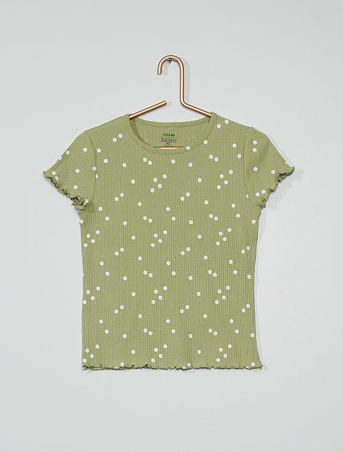 Camiseta eco-concepción                                                                 VERDE