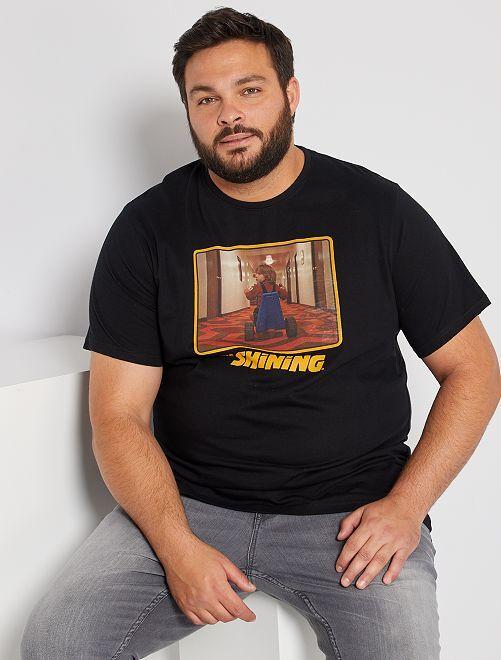 Camiseta 'El resplandor'                             negro