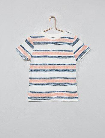 Camiseta estampada a rayas - Kiabi 8a1467c94c6