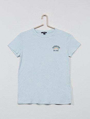 fb034c9a0 Niña 10-18 años - Camiseta estampada - Kiabi