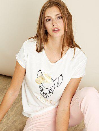 Camiseta estampada 'Bambi' - Kiabi
