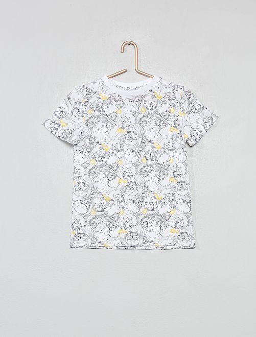 Camiseta estampada                                                                                         BEIGE Chico