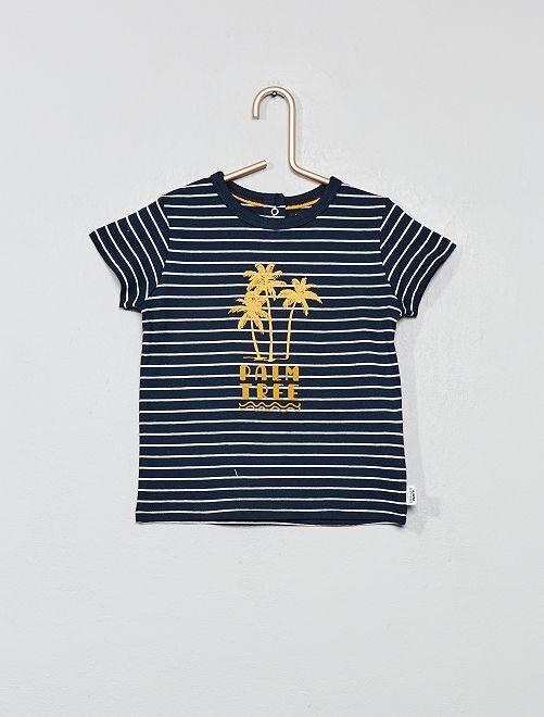Camiseta estampada                                         BLANCO Bebé niño