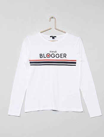 Niña 10-18 años - Camiseta estampada - Kiabi 82a3263fa0a6f