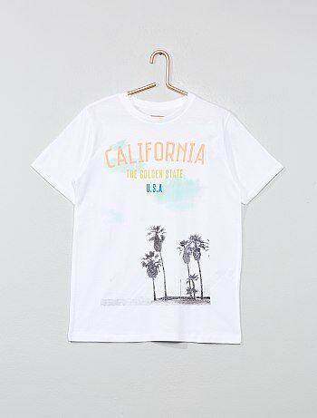 1cb398fc0dd1f Niño 10-18 años - Camiseta estampada - Kiabi