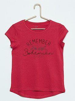 Camiseta estampada 'bohemia'