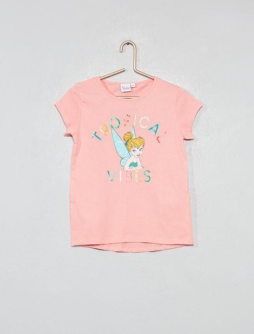 Camiseta estampada 'Campanilla'                                                     ROSA Chica